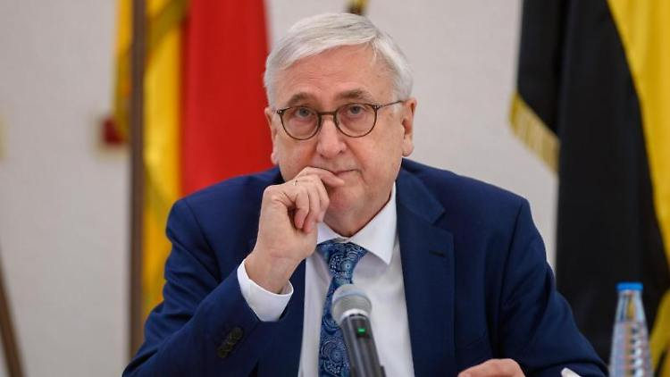 Der Innenminister des Landes Sachsen-Anhalt, Michael Richter. Foto: Klaus-Dietmar Gabbert/dpa-Zentralbild/dpa