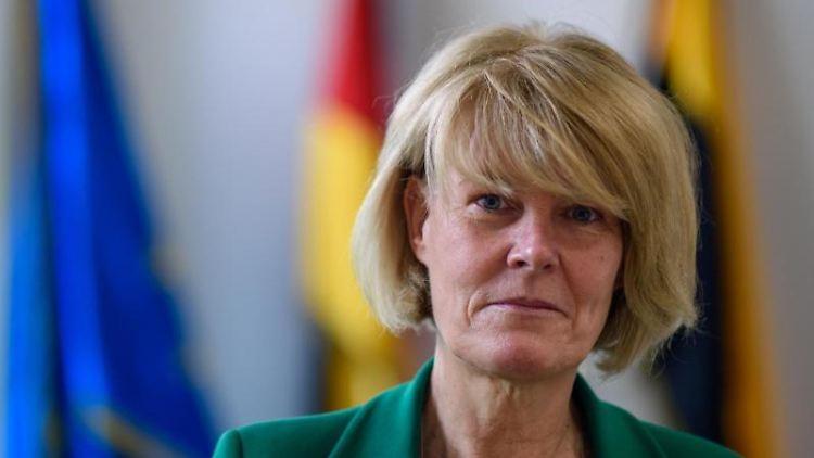 Sachsen-Anhalts Landeswahlleiterin Christa Dieckmann in Magdeburg. Foto: Klaus-Dietmar Gabbert/dpa-Zentralbild/dpa/archivbild