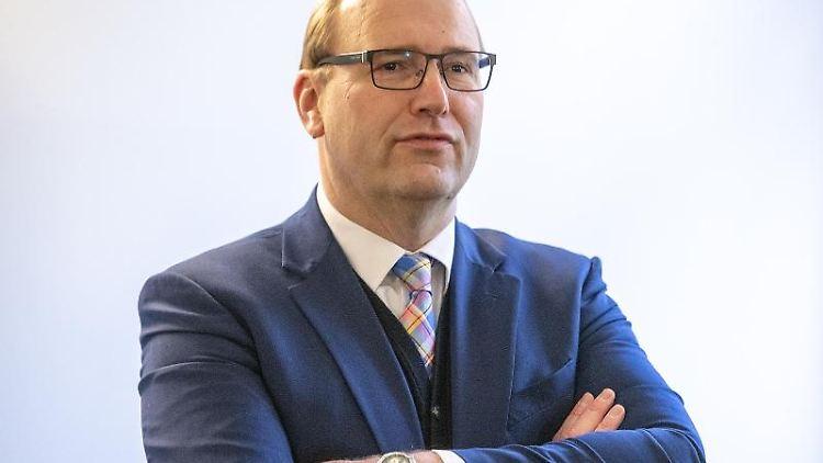 Der frühere Regensburger OB-Kandidat der CSU, Christian Schlegl. Foto: Armin Weigel/dpa/Archivbild
