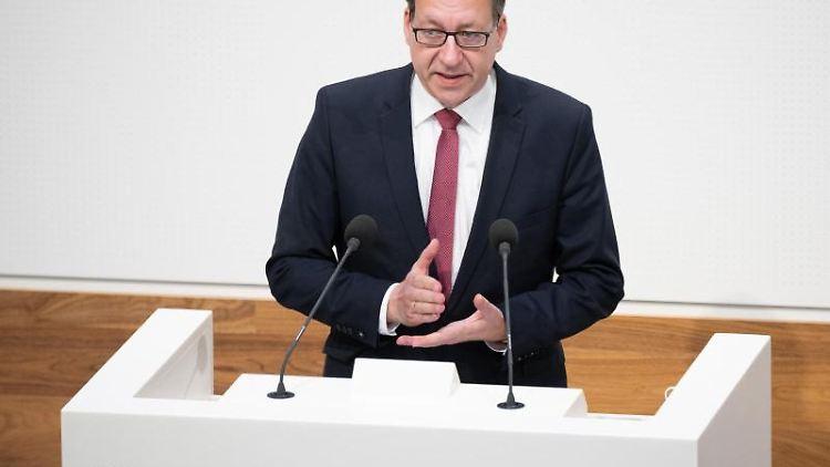 FDP-Fraktionschef in Niedersachsen, Stefan Birkner. Foto: Julian Stratenschulte/dpa