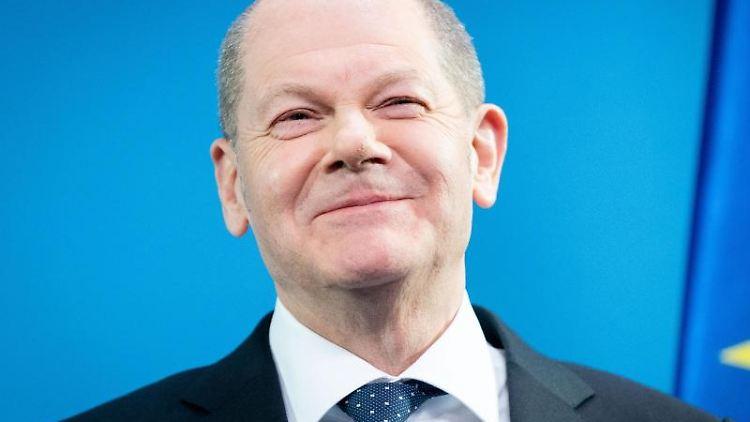 Olaf Scholz (SPD), Bundesminister der Finanzen. Foto: Kay Nietfeld/dpa