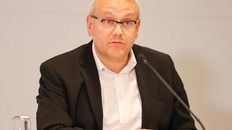 Götz Ulrich (CDU),Landrat des Burgenlandkreises. Foto: Jan Woitas/dpa-Zentralbild/dpa/Archivbild
