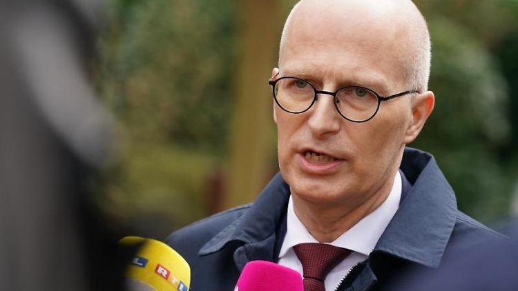 Peter Tschentscher (SPD), Erster Bürgermeister von Hamburg. Foto: Marcus Brandt/dpa