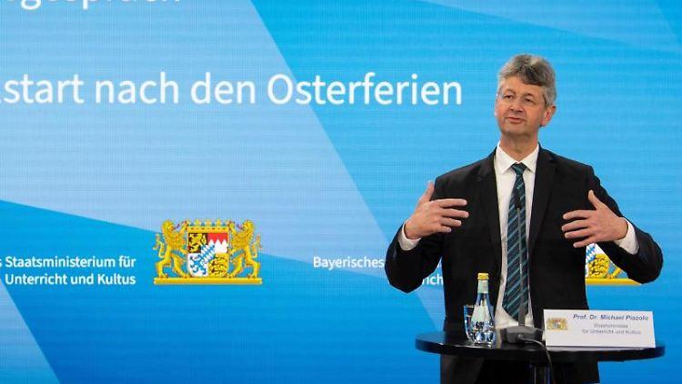 Michael Piazolo (Freie Wähler), Kultusminister von Bayern. Foto: Sven Hoppe/dpa