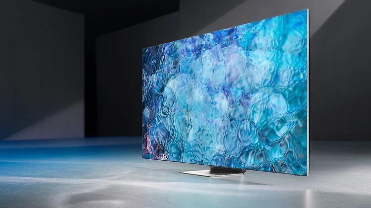 Samsung macht mit der Neo-QLED-Technologie einen weiteren Entwicklungsschritt. Die Fernseher werden noch dünner.