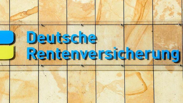 Gebäude der Deutschen Rentenversicherung in Berlin. Foto: Jens Kalaene/dpa-Zentralbild/dpa/Archivbild