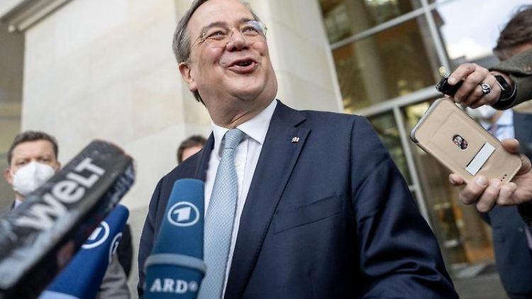 Armin Laschet, CDU-Bundesvorsitzender und Ministerpräsident von Nordrhein-Westfalen. Foto: Michael Kappeler/dpa/Aktuell