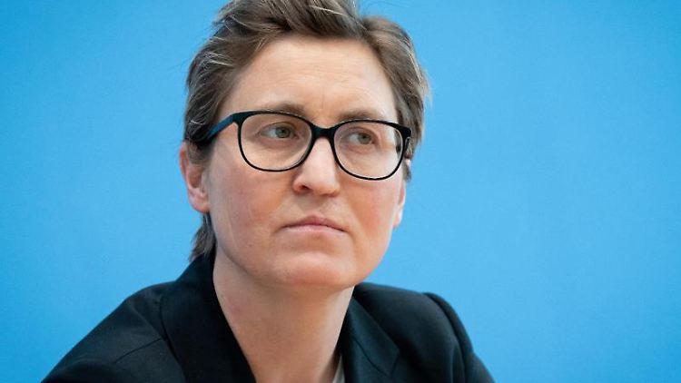 Susanne Hennig-Wellsow, Parteivorsitzende Die Linke. Foto: Kay Nietfeld/dpa/Archivbild