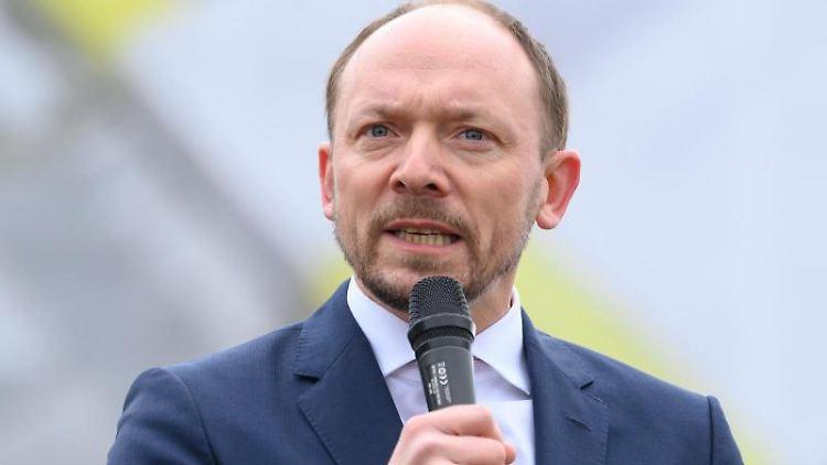 Marco Wanderwitz (CDU) bei einer Veranstaltung. Foto: Robert Michael/dpa-Zentralbild/dpa/Archivbild