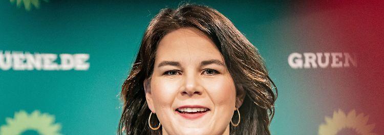 Kanzlerkandidatin der Grünen, Annalena Baerbock