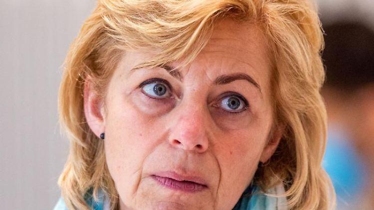 Kerstin Weiss (SPD), Landrätin von Nordwestmecklenburg. Foto: Jens Büttner/dpa-Zentralbild/ZB/Archivbild