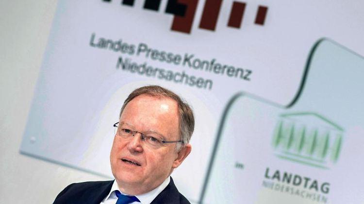 Stephan Weil (SPD), Ministerpräsident von Niedersachsen. Foto: Hauke-Christian Dittrich/dpa/Archivbild