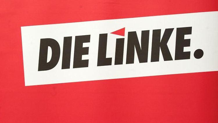 Das Logo der Partei Die Linke. Foto: Peter Endig/dpa-Zentralbild/dpa/Archivbild