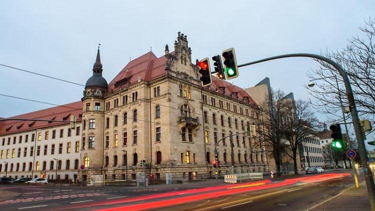 Das Landgericht Magdeburg. Foto: Klaus-Dietmar Gabbert/dpa-Zentralbild/dpa/Archivbild
