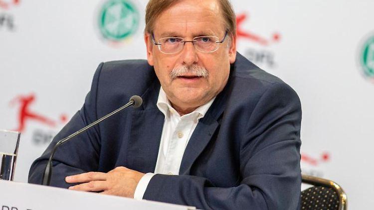 DFB-Vizepräsident Rainer Koch. Foto: Andreas Gora/dpa/Archivbild
