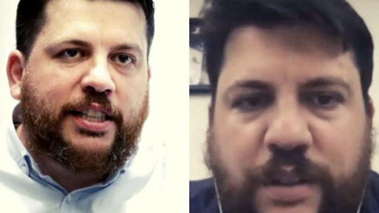 Der echte Leonid Wolkow ist links zu sehen, die Fake-Version von ihm ist rechts.