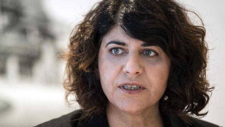 Berivan Aymaz, Grünen-Sprecherin für Integrations- und Flüchtlingspolitik im Landtag. Foto: Federico Gambarini/dpa/Archivbild
