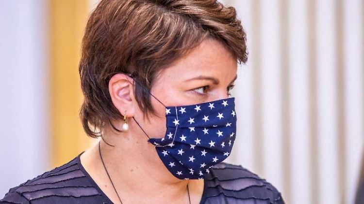 Sozialministerin Stefanie Drese. Foto: Jens Büttner/dpa-Zentralbild/ZB/Archivbild