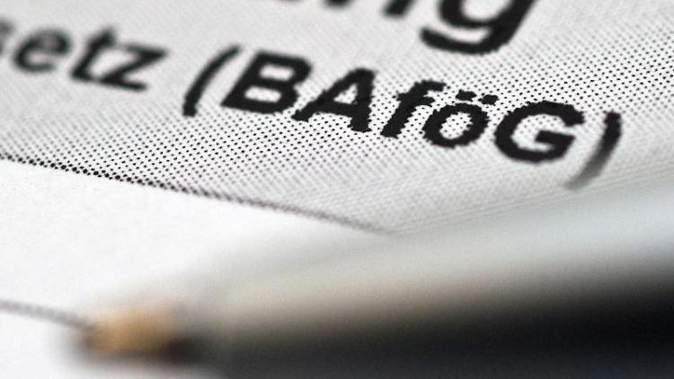 Ein BAföG-Antrag in Papierform. Foto: Andrea Warnecke/dpa-tmn/Archivbild