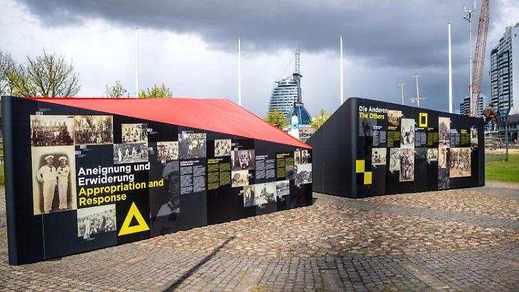 Die Open Air-Ausstellung