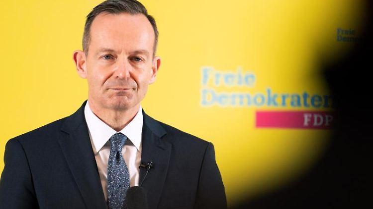 Volker Wissing (FDP)spricht. Foto: Gregor Bauernfeind/dpa/Archivbild