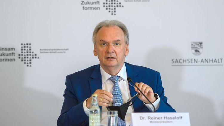 Reiner Haseloff (CDU), Ministerpräsident des Landes Sachsen-Anhalt. Foto: Klaus-Dietmar Gabbert/dpa-Zentralbild/ZB/Archivbild