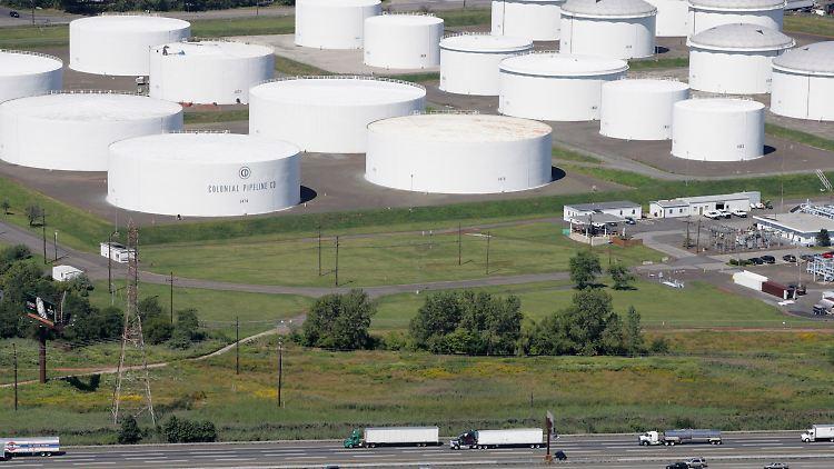 Öltanks von Colonial-Pipeline in den USA. Die Betreiber wurden Opfer einer Cyberattacke.