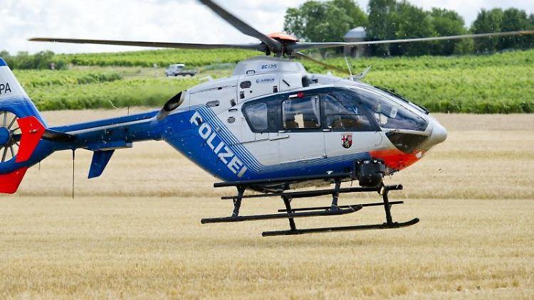 Ein Polizei-Hubschrauber. Foto: picture alliance / dpa