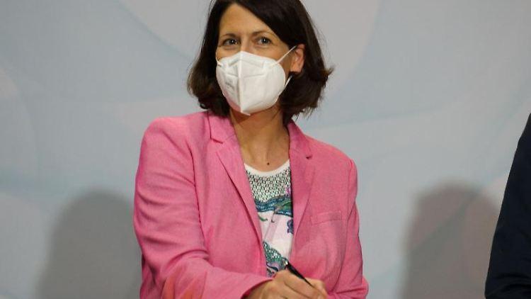 Daniela Schmitt (FDP). Foto: Frank Rumpenhorst/dpa/Archivbild