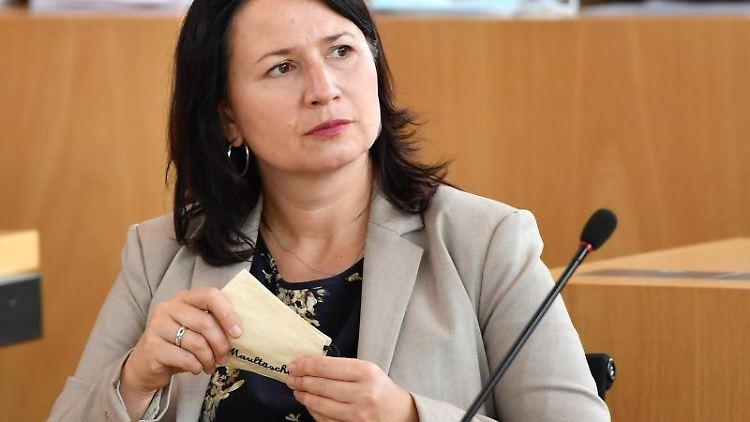 Anja Siegesmund (Bündnis90/Die Grünen), Umweltministerin von Thüringen. Foto: Martin Schutt/dpa-Zentralbild/dpa