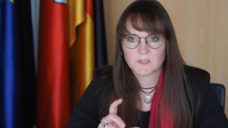Katrin Lange (SPD), Brandenburger Ministerin der Finanzen und für Europa. Foto: Soeren Stache/dpa-Zentralbild/dpa