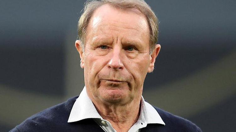 Berti Vogts, ehemaliger deutscher Fußballspieler und heutiger Fußballtrainer. Foto: Daniel Karmann/dpa/Archiv