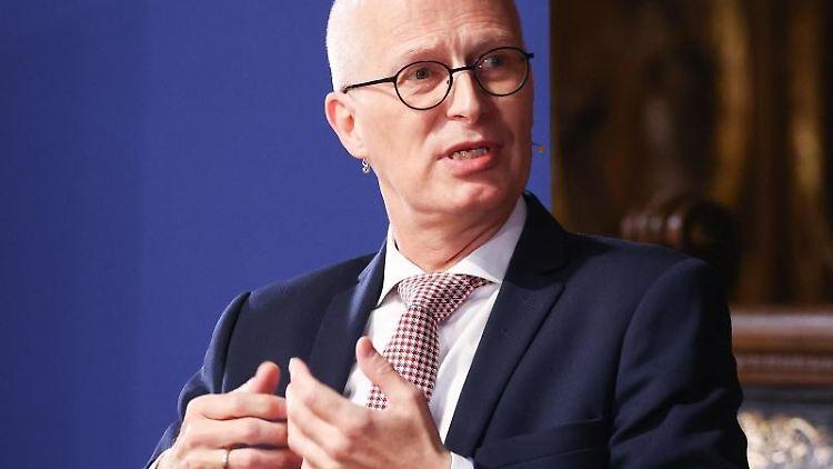 Peter Tschentscher (SPD), Erster Bürgermeister in Hamburg. Foto: Christian Charisius/dpa/Archivbild