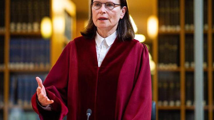 Ricarda Brandts, Präsidentin des nordrhein-westfälischen Verfassungsgerichtshofs. Foto: Guido Kirchner/dpa/Archivbild