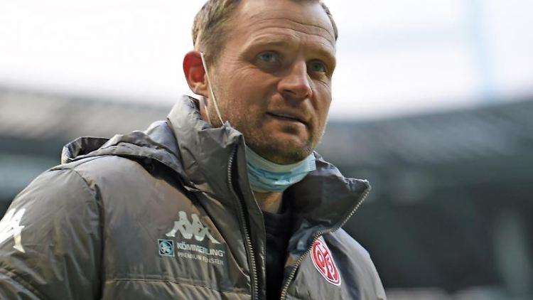 Bo Svensson, Cheftrainer beim 1.FSV Mainz 05. Foto: Carmen Jaspersen/dpa/Archiv