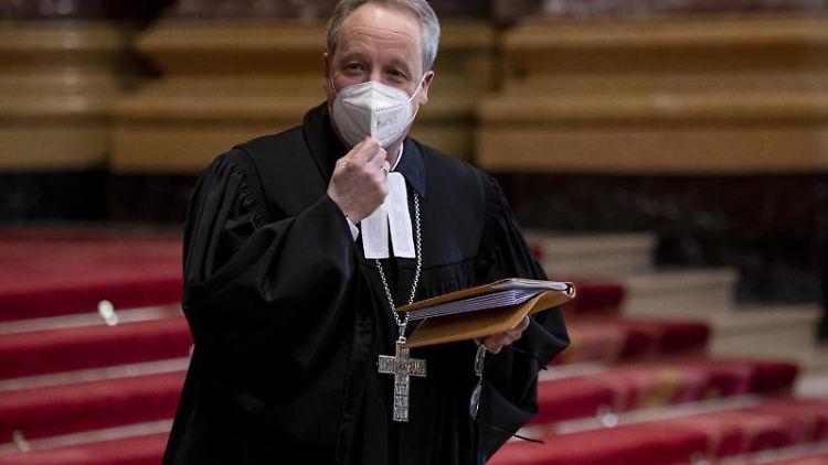 Christian Stäblein, Bischof der Evangelischen Kirche Berlin-Brandenburg-schlesische Oberlausitz. Foto: Fabian Sommer/dpa/Archivbild