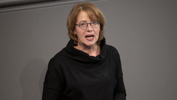 Tabea Rößner (Bündnis 90/Die Grüne), Mitglied des Deutschen Bundestags, spricht. Foto: Fabian Sommer/dpa