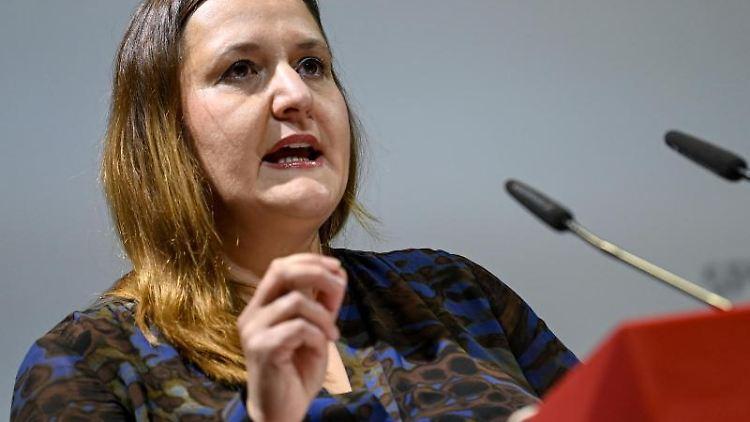 Manja Schüle (SPD), Wissenschaftsministerin. Foto: Britta Pedersen/dpa-Zentralbild/dpa/Archivbild