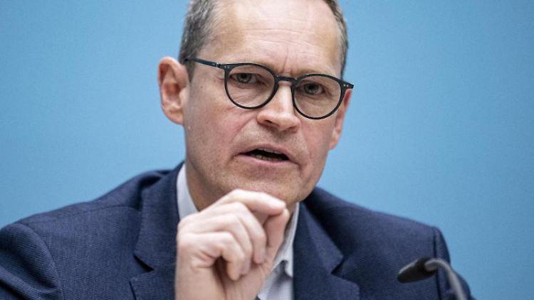 Michael Müller (SPD), Regierender Bürgermeister von Berlin. Foto: Fabian Sommer/dpa/Archiv