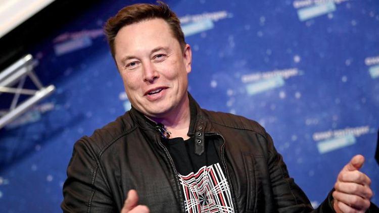 Tesla-Chef Elon Musk. Foto: Britta Pedersen/dpa-Zentralbild/dpa-pool/dpa/Archivbild