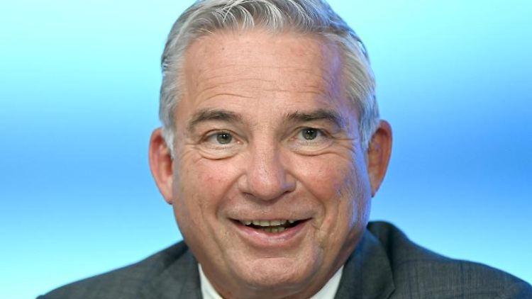 Thomas Strobl (CDU), Innenminister von Baden-Württemberg. Foto: Bernd Weissbrod/dpa