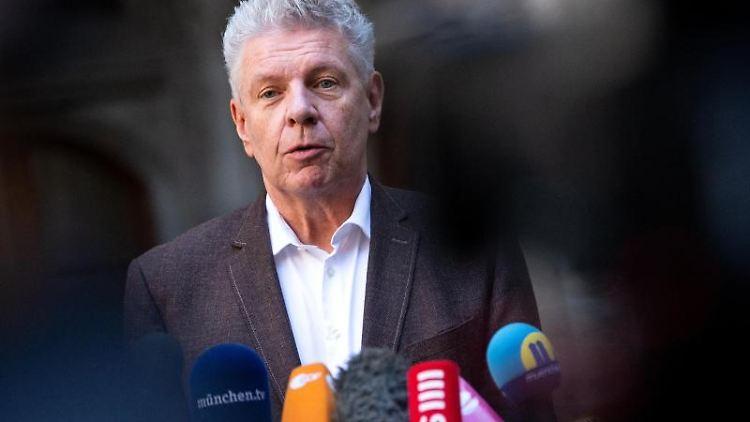 Dieter Reiter (SPD), Oberbürgermeister von München, spricht. Foto: Sven Hoppe/dpa/Archivbild