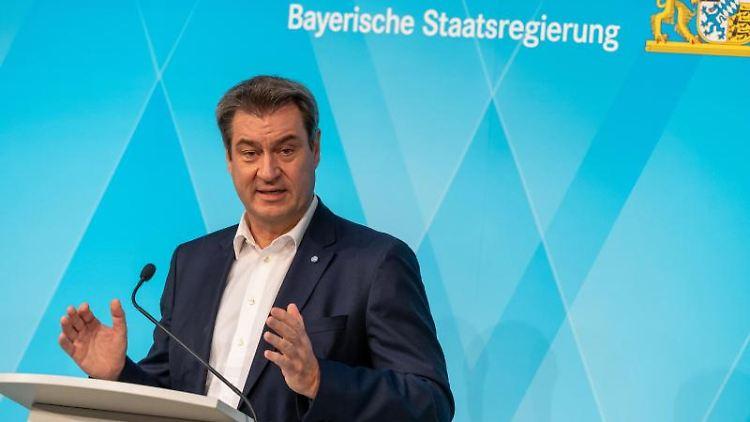Markus Söder (CSU), Ministerpräsident von Bayern. Foto: Peter Kneffel/dpa