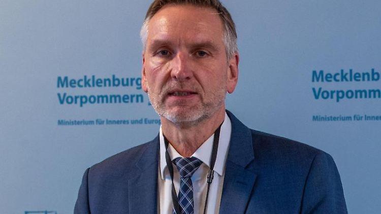 Torsten Voß, Vorsitzender der Verfassungsschutz-Kommission in Mecklenburg-Vorpommern. Foto: Jens Büttner/dpa-Zentralbild/dpa/Archivbild