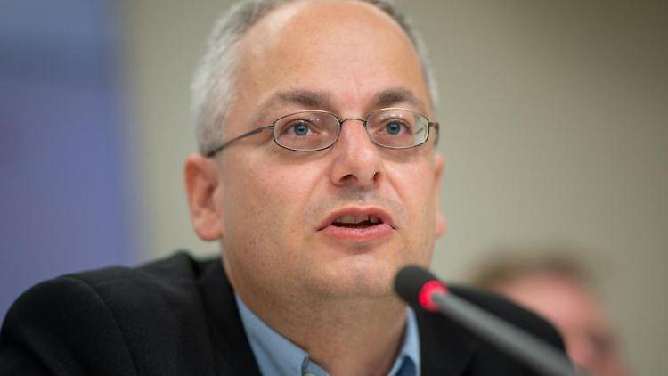 Landesgeschäftsführer von der Partei Die Linke Stefan Wollenberg. Foto: Monika Skolimowska/dpa-Zentralbild/dpa/Archivbild