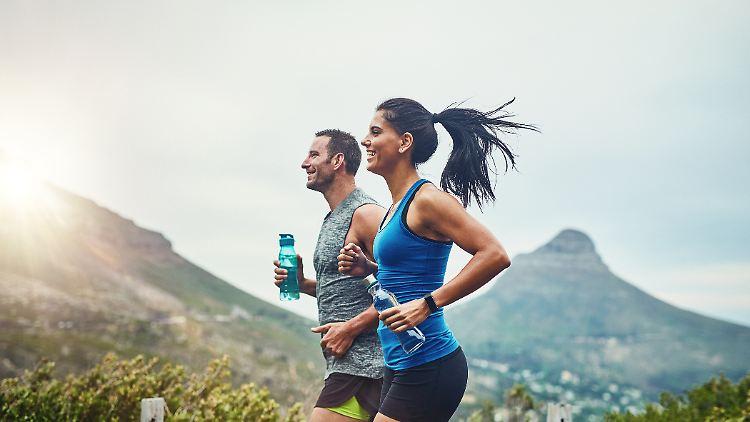 Mit der richtigen Trinkflasche zu sportlichen Bestleistungen.