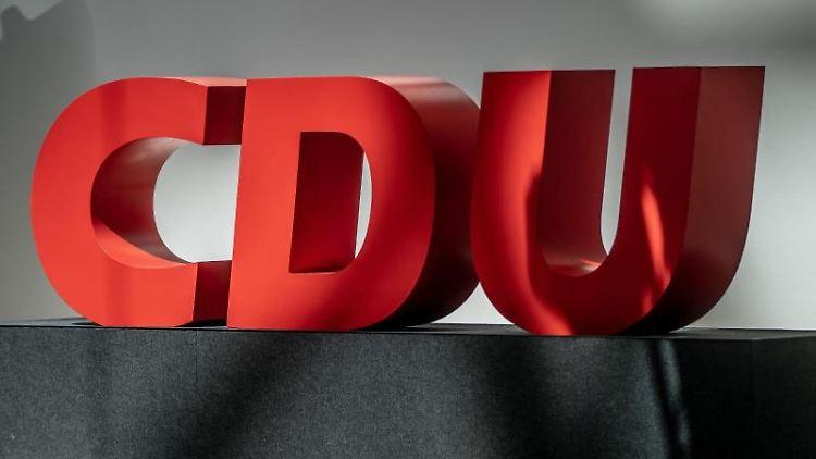 Das Logo der CDU. Foto: Michael Kappeler/dpa/Symbolbild/Archiv
