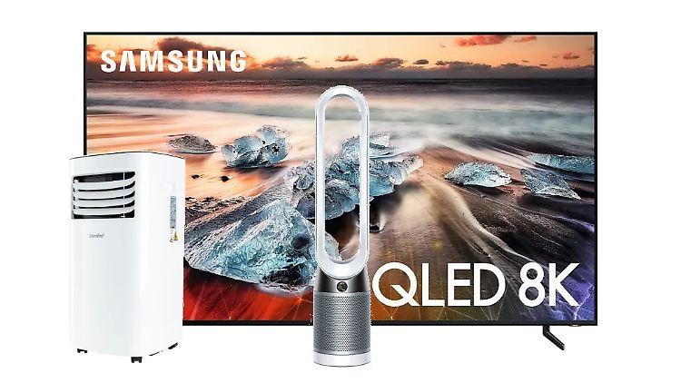 Wir finden täglich die besten Angebote für Fernseher, Ventilatoren, Tablets & Co.