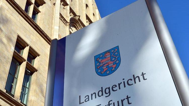 Das Landgericht Erfurt. Foto: Martin Schutt/dpa-Zentralbild/dpa