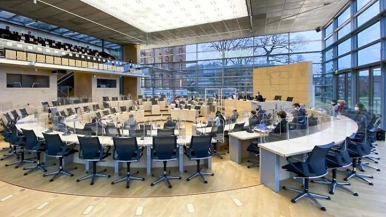 Landtag Schleswig-Holstein. Foto: Frank Molter/dpa